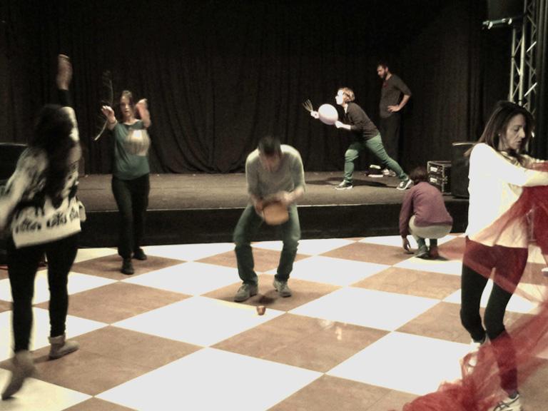 workshop teatro sociale Sfumature in Atto