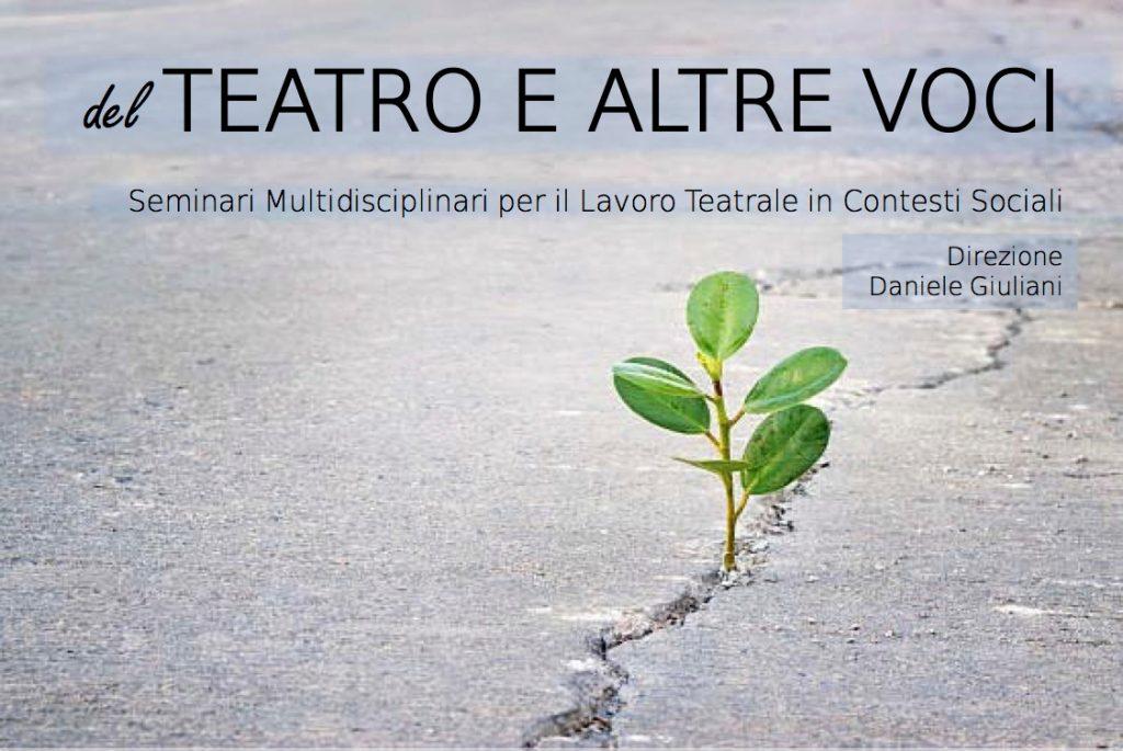 del teatro e altre voci